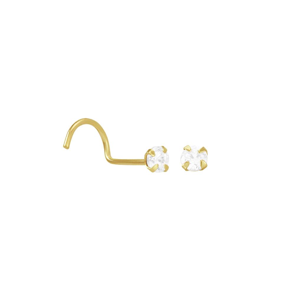 5f94a2c45374 Piercing de Nariz em Ouro 18K - AU2793
