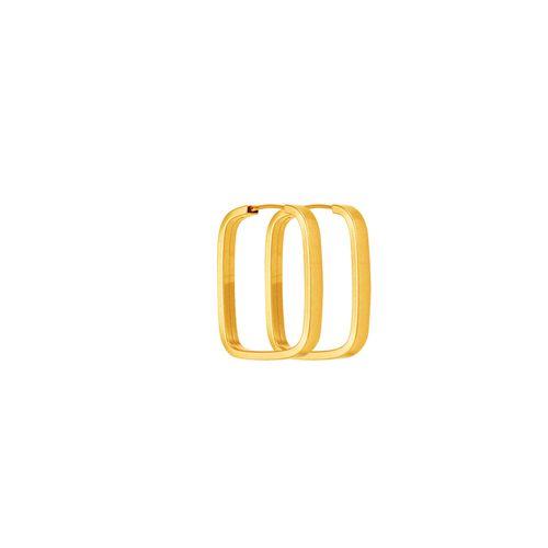 Brinco Argola em Ouro 18K Quadrado - AU4065   Bruna Tessaro Joias -  brunatessaro 624f17ff7a