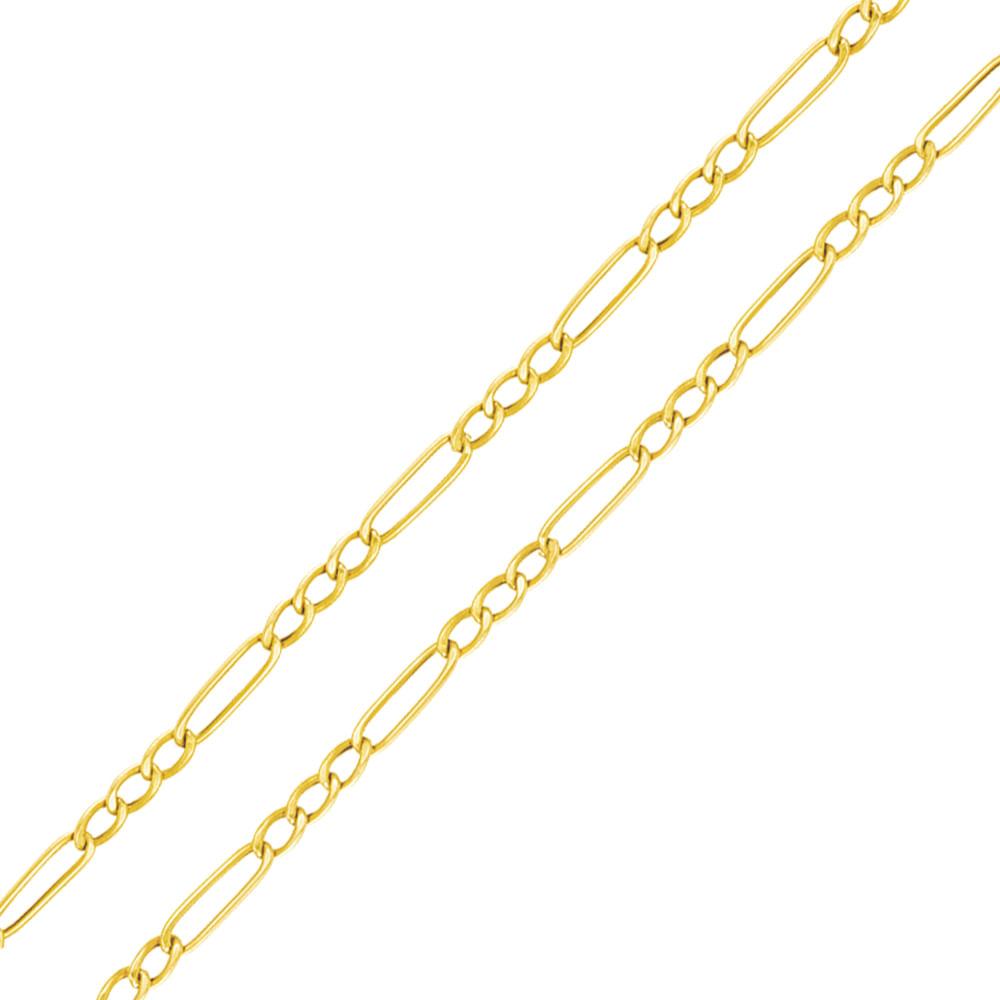 21e509cdb5a Corrente em Ouro 18K Elos Grumet 3x1 60CM - AU4574
