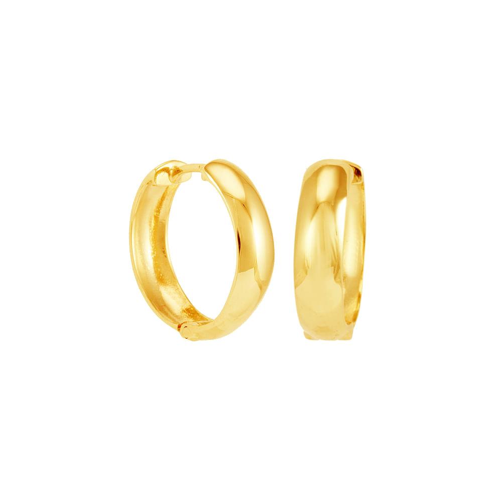 Brinco Argola em Ouro 18K Articulado - AU4773   Bruna Tessaro Joias ... 3eac65c76d