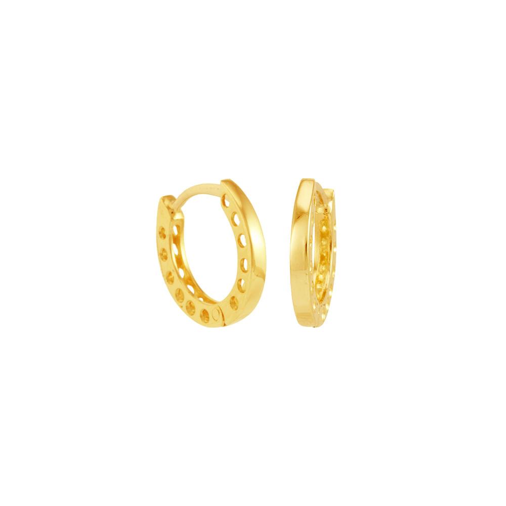 Brinco Argola em Ouro 18K Articulado - AU4777   Bruna Tessaro Joias ... cf6d36f0f4