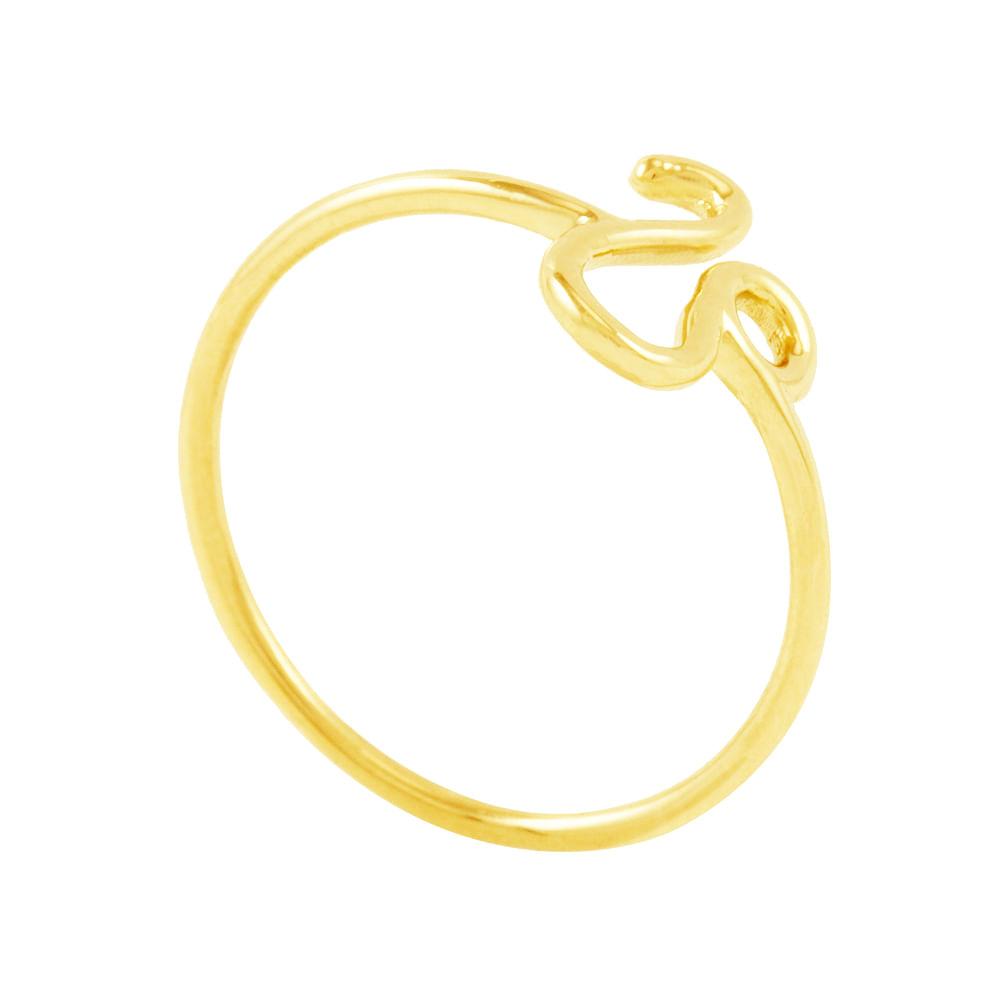 Anel em Ouro 18K Signo Leão - AU5205  Bruna Tessaro Joias - brunatessaro 820b42d245