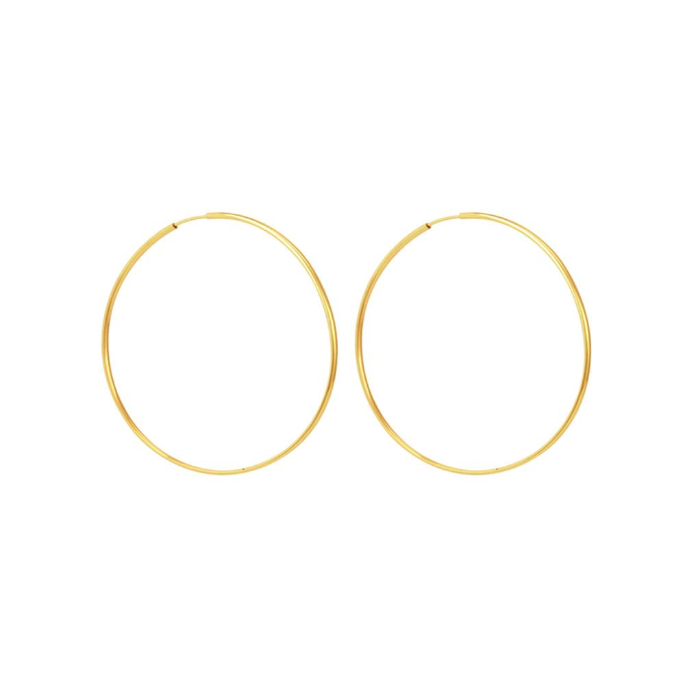 Brinco em Ouro 18K Argola - AU5369  Bruna Tessaro Joias - brunatessaro e307ae00aa
